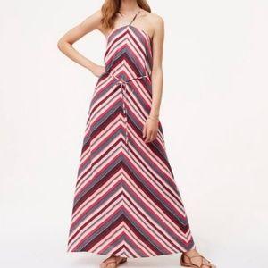 Loft Chevron Maxi Dress